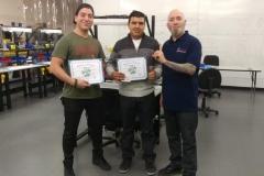 Master Tech Jan 16 Training Graduates