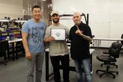 Master Tech March 6 Training Graduate