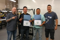 Master Tech May 29 Training Graduates