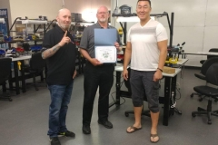 Master Tech June 12 Training Graduate